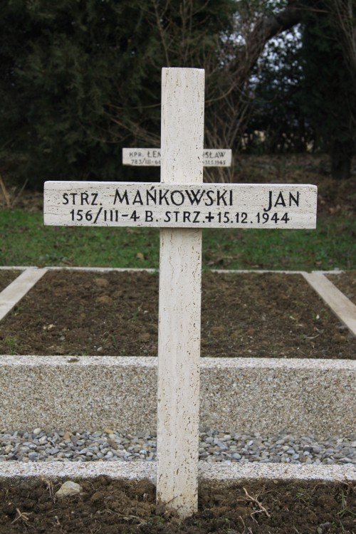 Jan  Mańkowski pseudonim Janosik Jan