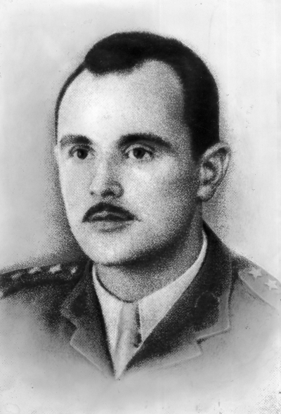 Capt. Ludwik Rawicz-Rojek of the 1st Brigade of the 3rd Carpathian Infantry Division.